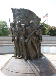 African-American-Civil-War-Memorial-statue-front