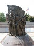 African-American-Civil-War-Memorial-statue-front