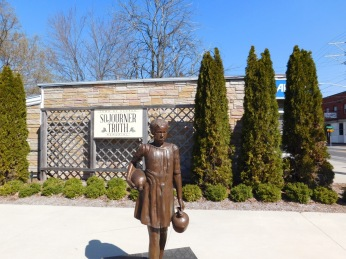 at the Sojourner Truth Memorial in the Town of Esopus, NY.