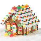 candy-chalet gingerbread house