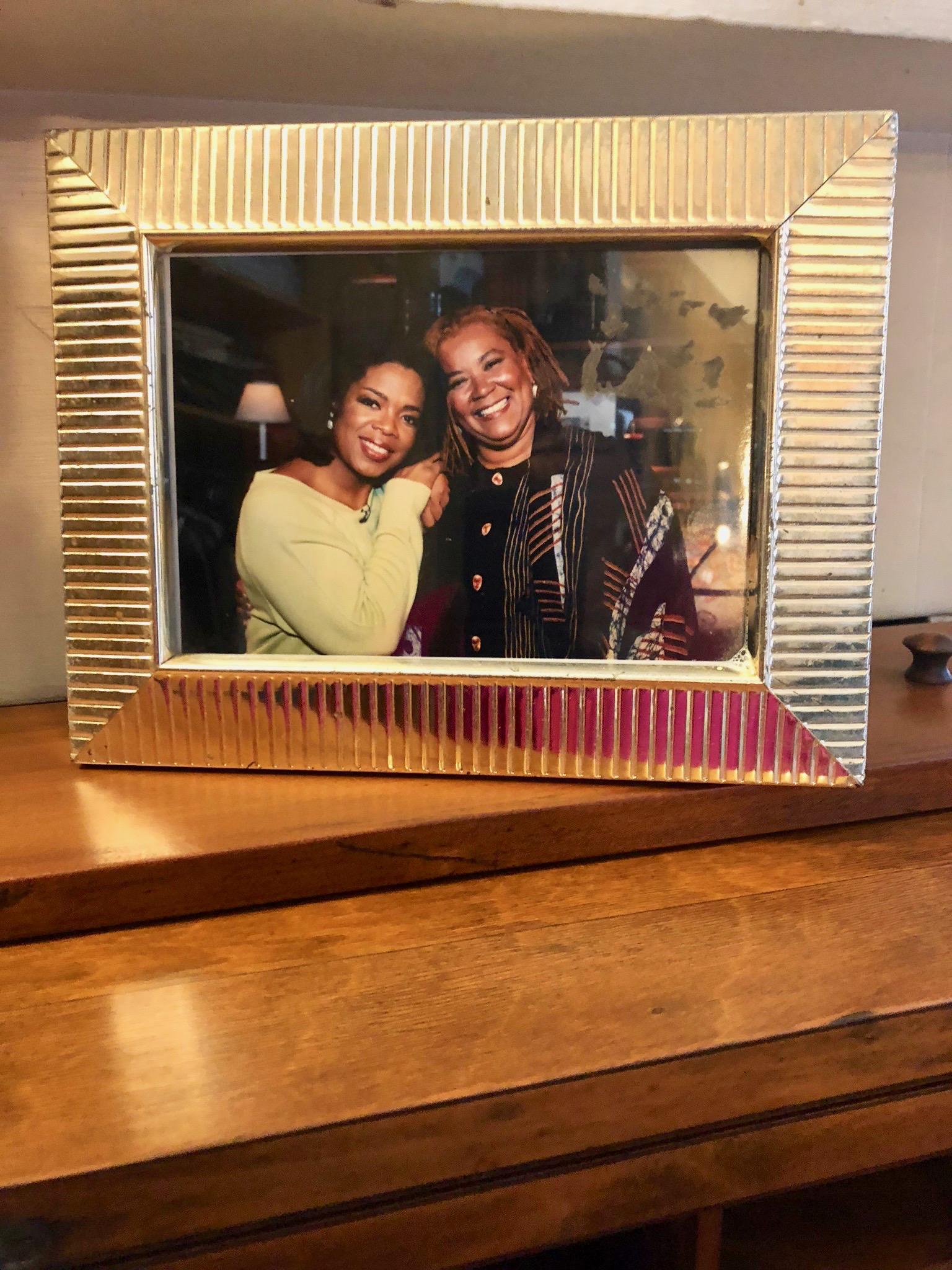 Oprah and Breena in 1999
